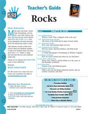 FREE 12-Page, Downloadable Lesson Plan for Kids Discover Rocks!