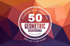 Dealjumbo.com — Discounted design bundles with extended license! | Geometric/Polygon Backgrounds & Shapes