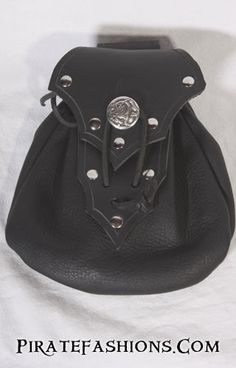 Pirate Leather Belt Pouch