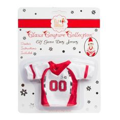 Amazon.com: Elf on the Shelf Claus Couture Collection Game Day Jersey: Toys & Games