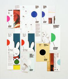 Lesley Moore - Centraal Museum - Brochures