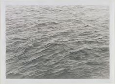 Vija Celmins. Untitled (Ocean). 1970 (graphite)