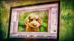 PCペイントで絵を描きました! Art picture by Seizi.N:    PCでお絵描きはこんな感じでお絵描きしてます。  絵の描き方PCペイントアプリケーション使用 ...