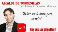 El alcalde de Tordesilas, España, lugar del Toro de la Vega.