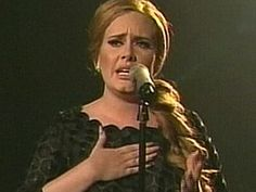 Adele -what a set of pipes she has