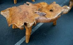 I am obsessed with natural-wood furniture.  This seems like a steal at $248.
