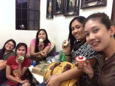 Christmas cupcakes. :))