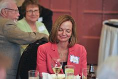 Karen Cox at HCF Board and CAC Reception