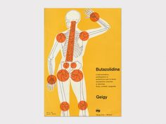 """From 1941–1970, J.R. Geigy A.G., the Swiss pharmaceutical and chemical company headquartered in Basel worked with leading designers to create a visual vocabulary know as the """"Geigy style""""."""