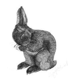Bunny by HepzibahMcLeod on Etsy, £45.00