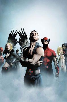 Jae Lee, Dark X-Men, Namor, Cloak, Dagger, Mimic, Daken, Wolverine, Emma Frost, Black Queen, Weapon Omega