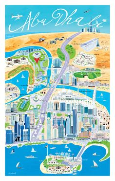 Abu Dhabi, Illustrated