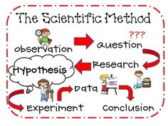 Scientific Method Mini-Posters that can be used to teach the steps of the scientific method or used to decorate the classroom. Print all or just the first one! Colorful graphics and great for the elementary level. 1st Grade Science, Elementary Science, Science Classroom, Science For Kids, Classroom Activities, Elementary Schools, Science Ideas, Fun Activities, Teaching Scientific Method