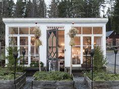 backyard shed diy Backyard Studio, Garden Studio, Backyard Ideas, Landscaping Ideas, Backyard Landscaping, Backyard Office, Backyard Cottage, Outdoor Rooms, Outdoor Living