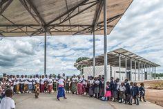 Susan Rodriguez (Ennead Architects), Frank Lupo, Randy Antonia Lott, Chipakata Children's Academy, Chipakata Village, Zambia
