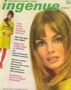 """Jean Shrimpton for Ingenue, October 1967 "" 1967 Fashion, 70s Women Fashion, Fashion Images, Fast Fashion, Vintage Fashion, Trendy Fashion, Fashion Beauty, Women's Fashion, Teen Jeans"