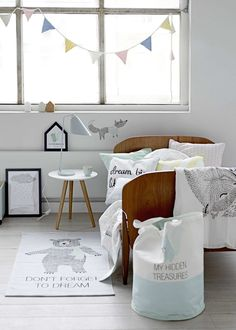 Natural modern nursery | 10 Lovely Little Boys Rooms Part 6 - Tinyme Blog