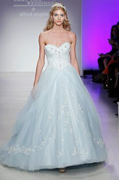 This Alfred Angelo wedding dress is part of the Disney Weddings collection, channeling Cinderella herself!
