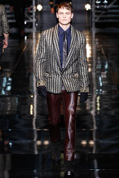 Versace | Fall 2014 Menswear Collection | Style.com