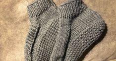 I knitted a pair of medium dorm boots last evening and this evening. I used this pattern , with Bernat Softee Chunky Yarn in True Gray . Bernat Softee Chunky Yarn, Chris Anderson, Crochet Yarn, Knitting Socks, Dorm, Crochet Patterns, Slippers, Gray, Medium