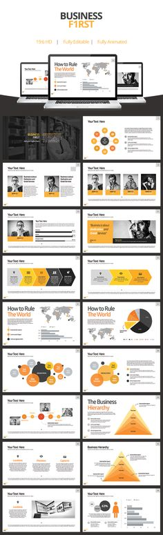 SMART Goals PowerPoint Template Infographic, Target and Template - business presentation template