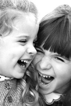Giggling together