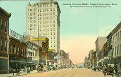 Chattanooga,TN. Abbots Store,Templeman Piano Company & Hamiliton National Bank