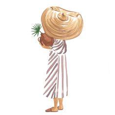Kala Art Print by Sabina Fenn Illustration - X-Small Diy Art, Art Inspo, Painting & Drawing, Watercolor Paintings, Easy Watercolor, Watercolor Illustration, Art Drawings, Art Projects, Canvas Art