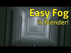 Easy Fog in Blender - YouTube