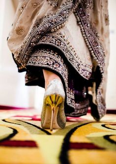 Pakistani Bride on her way