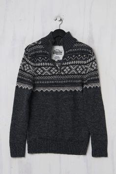 Superdry Norweger Pullover Second Hand aus Wolle Trends, Second Hand, Superdry, Vintage, Wool, Vintage Comics, Beauty Trends