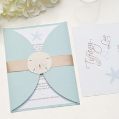 The Seaside Wedding Invitation Suite