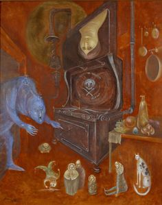 A Warning to Mother, 1973 - Leonora Carrington