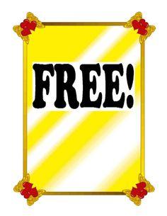 Free! Tag01-Digital Download-ClipArt-ArtClip-Digital Priced at $1.75 #clipart #digital