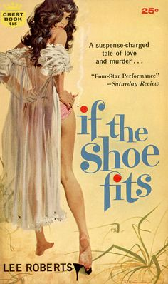 If the Shoe Fits #Pulp #Art #Cover