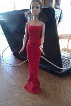tuto robe de soirée rouge
