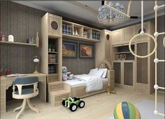 Amazing Themed Kids Bedroom