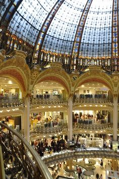 Galeries Lafayette, Paris by Maelo Paris