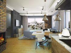 Projekt małego domu nowoczesego do 100m2 - Murano S. | Quattro Domy Conference Room, Table, Furniture, Asd, Studio, Home Decor, Homemade Home Decor, Meeting Rooms, Mesas