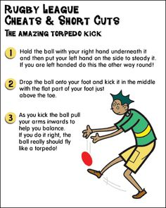 The amazing torpedo Rugby Kick tutorial