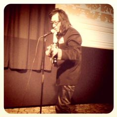 Rodriguez playing a song after the morning's screening Searching For Sugar Man, Documentaries, Addiction, Tours, Photo And Video, Concert, Music, Artist, Fictional Characters