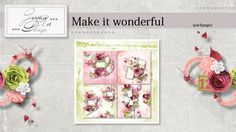 Make it wonderful quickpages by Jessica art-design