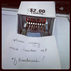 Random Acts of Kindness...  Return To Home: 38 Acts of Birthday Kindness