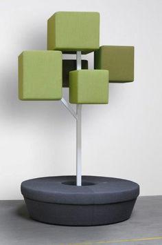Tree D (Design by Sam Goyvaerts) - Tree D brengt de natuur naar binnen! Het ontwerp is zo gecreëerd om in te spelen op de mentale ergonomie van mensen en prikkelt de zintuigen.