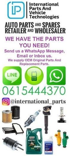 International Parts & Vehicle Technologies, Rosebank, Johannesburg. Automotive Parts Supplier Nissan Auto, Whatsapp Message, Phase 2, Tech News, South Africa, Messages, Technology, Vehicles, Board