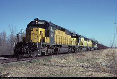 RailPictures.Net Photo: CNW 6897 Chicago & North Western Railroad EMD SD40-2 at Kewaskum, Wisconsin by Pete Greischar