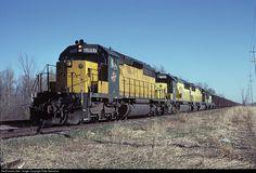RailPictures.Net Photo: CNW 6897 Chicago & North Western Railroad EMD SD40-2 at Kewaskum, Wisconsin by Pete Greischar