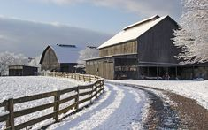 """This wintry day at our farm was so beautiful, you could almost hear the snow crunch under your feet,"" says Lisa Walker Ravnborg of Dandridge, Tennessee. country-magazine.com"