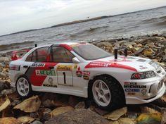 Tamiya DF03 Rally Mitsubichi Lancer