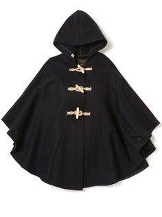I'm really into cape coats for some reason